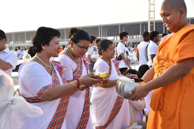 International Magha Puja at Wat Phra Dhammakaya Thailand