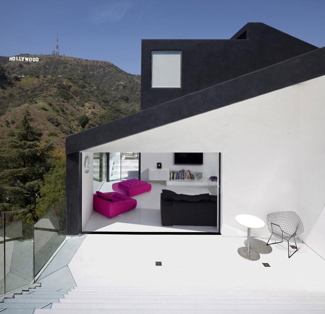 Modern Home Design October 2012: Hollywood Hills Modern Architecture
