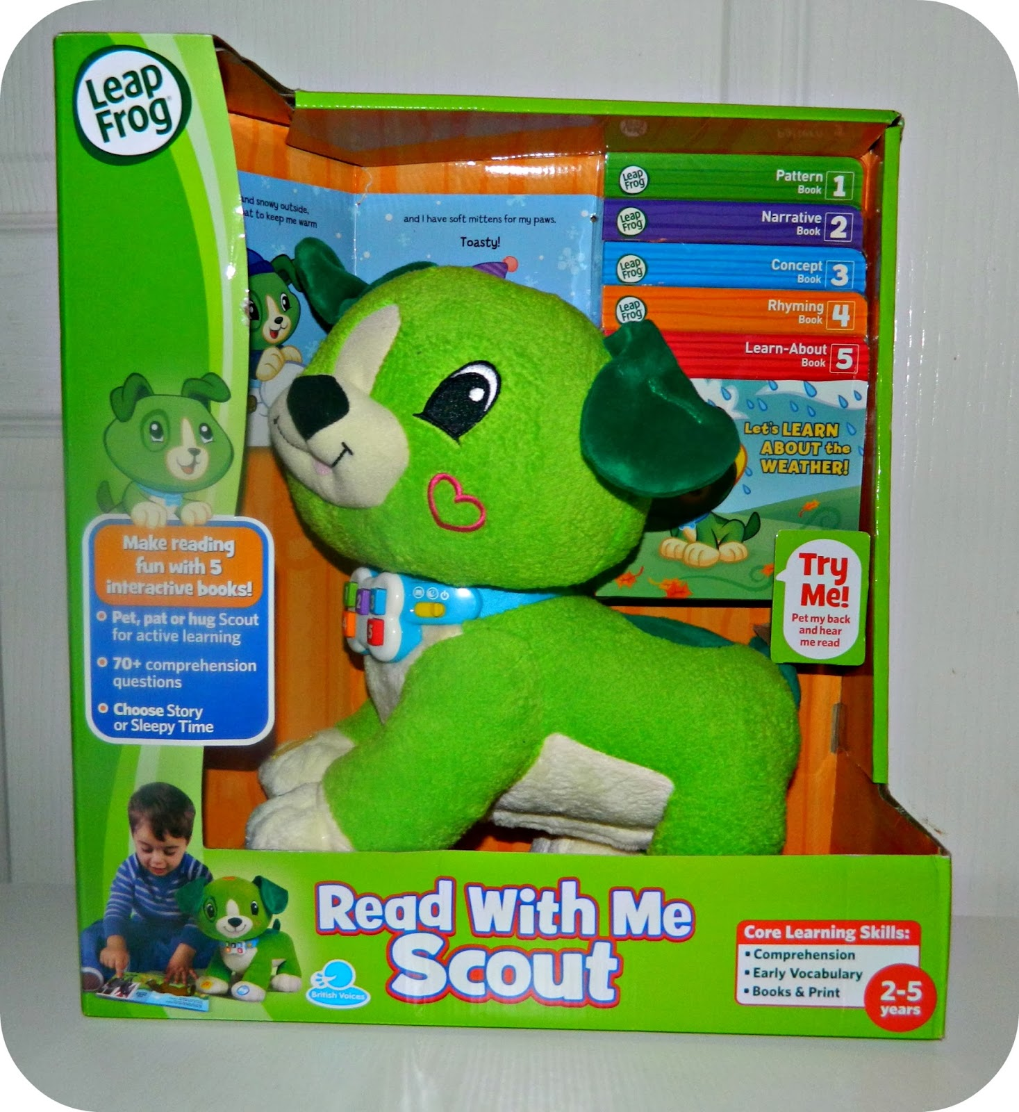 Read With Me Scout from LeapFrog A Review