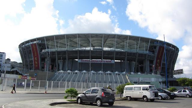 Estadio da Fonte Nova, Historia de Salvador, Bahia
