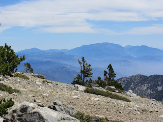 View from southeast from West Baldy