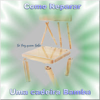 Como reparar uma cadeira bamba. Restauração de cadeira frouxa. Conserto de cadeiras de madeira