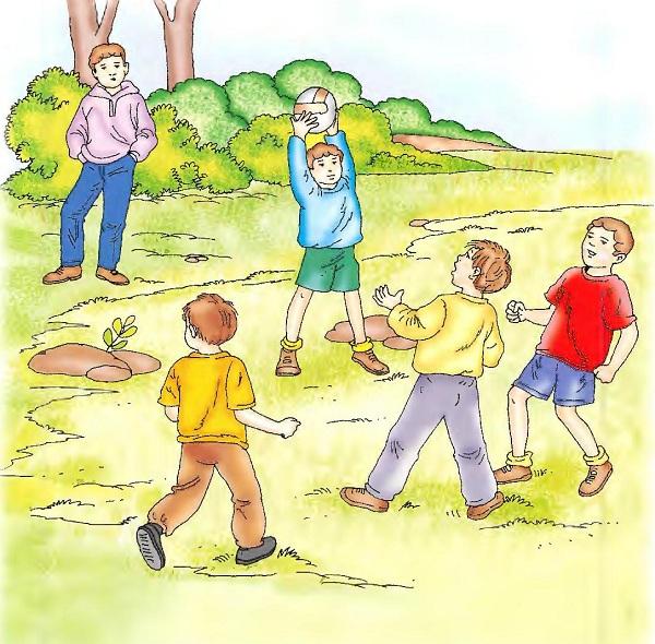قصص للأطفال لتعليم رد التحية للاصدقاء - قصة تامر ينضم الى الملعب