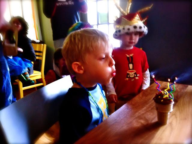Mixed up Backwards Birthday Party