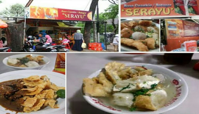 Kota bandung tidak hanya populer dengan daerah wisata saja akan tetapi bandung juga meru Wisata Kuliner Bakso Cuanki Serayu Bandung