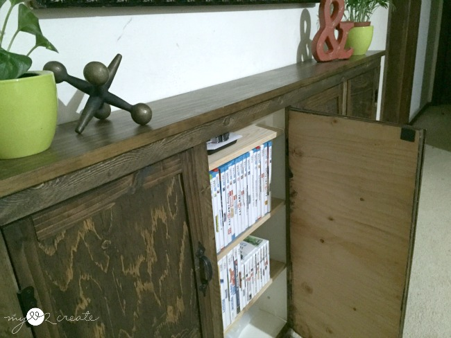 MyLove2Create Video Game Storage made from old drawers