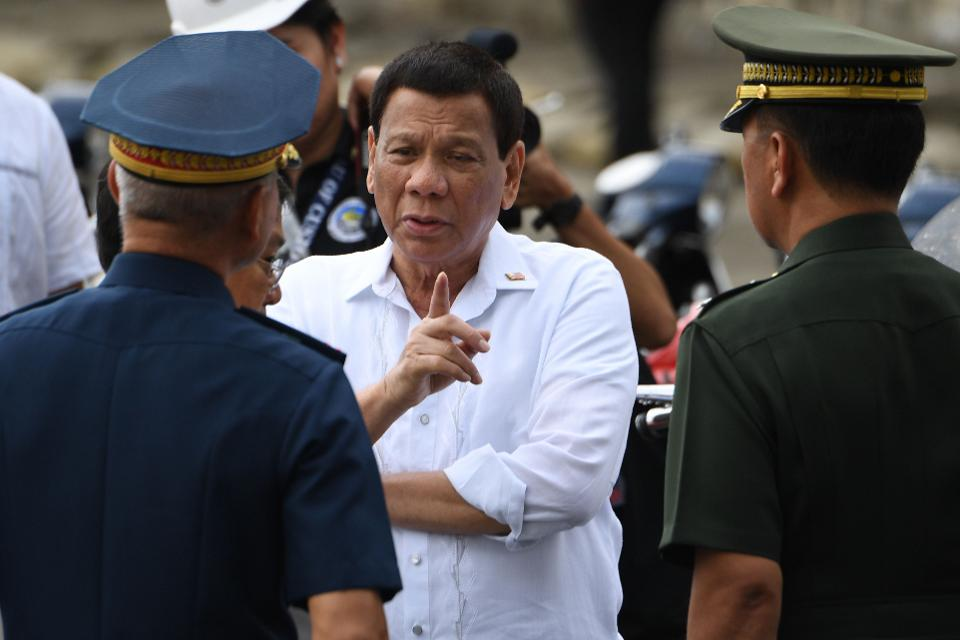 Philippine President Rodrigo Duterte brought Peace to the Philippines