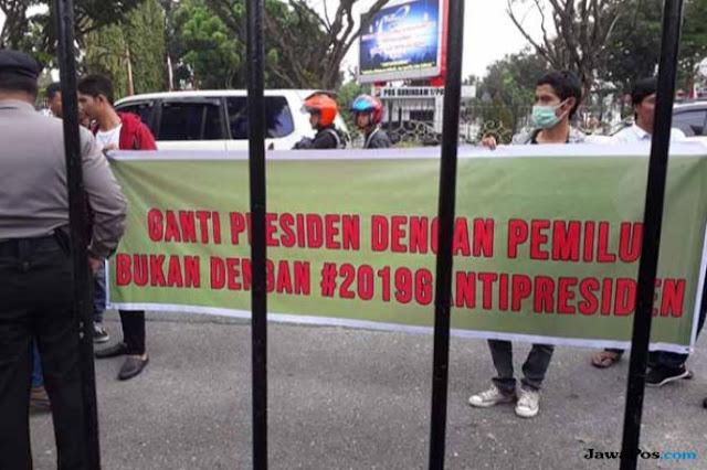 Bawaslu Riau Minta Deklarasi #2019GantiPresiden Diundur