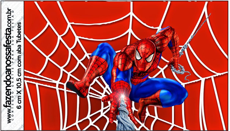 Imagenes De Hombre Araña Para Imprimir