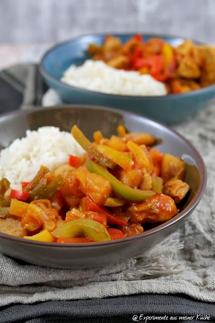 Hähnchen süß-sauer | Rezept | Kochen | Essen