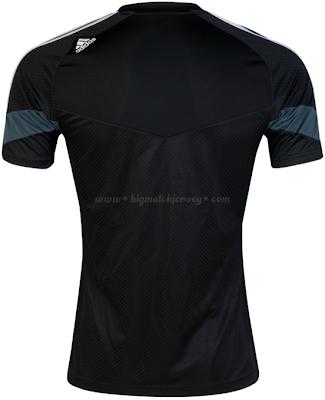 Real Madrid black UCL Training Shirt