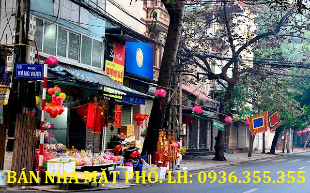 Bán nhà mặt phố Hàng Rươi, Hoàn Kiếm