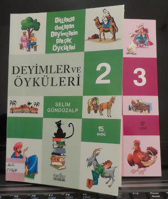 Selim gündüzalp deyimler ve öyküleri 2-3 kitapları