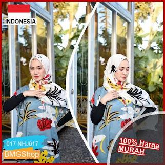 NHJ017 Pashmina Tali Motif Cantik BMGShop