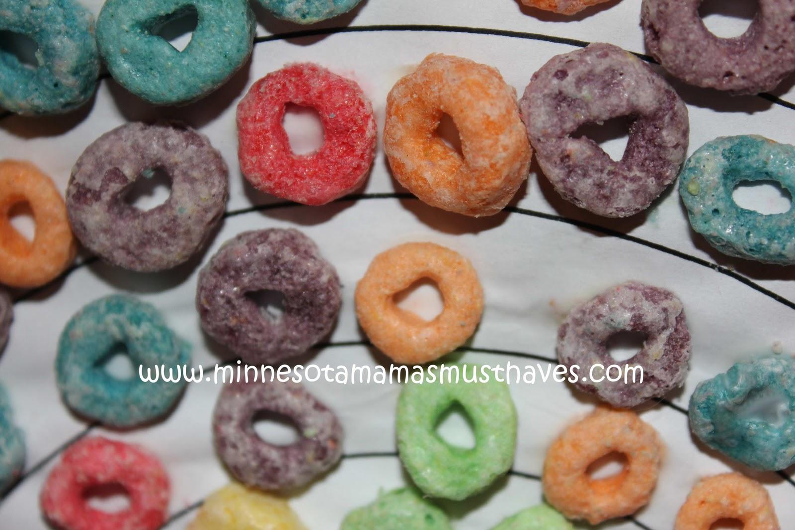 Toddler Tuesday Fruit Loop Rainbows