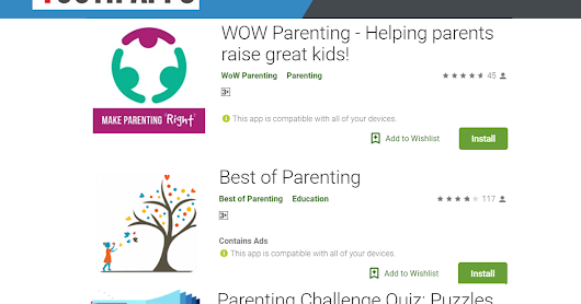 Latest Digital Parenting Mobile Apps Collection [Top 3]