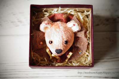 брошь, мишка, brooch, pin, gift, PIF