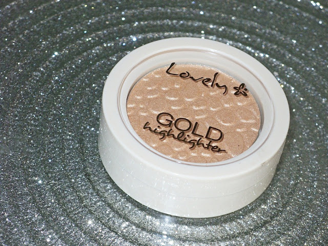 Rozświetlacz Hihglighter Gold, Lovely