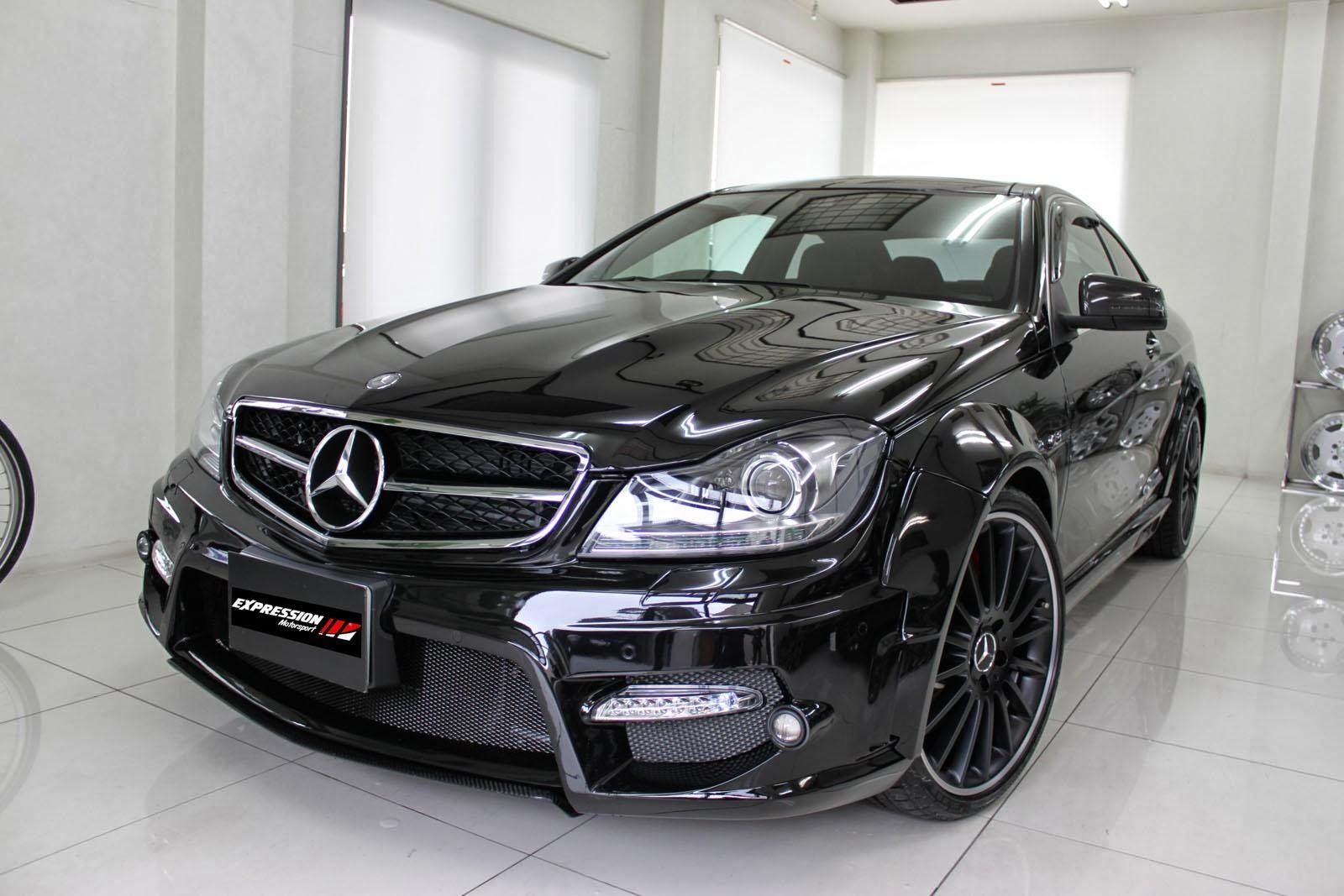 mercedes c class coupe sport 2014 wallpaper cars bikes. Black Bedroom Furniture Sets. Home Design Ideas
