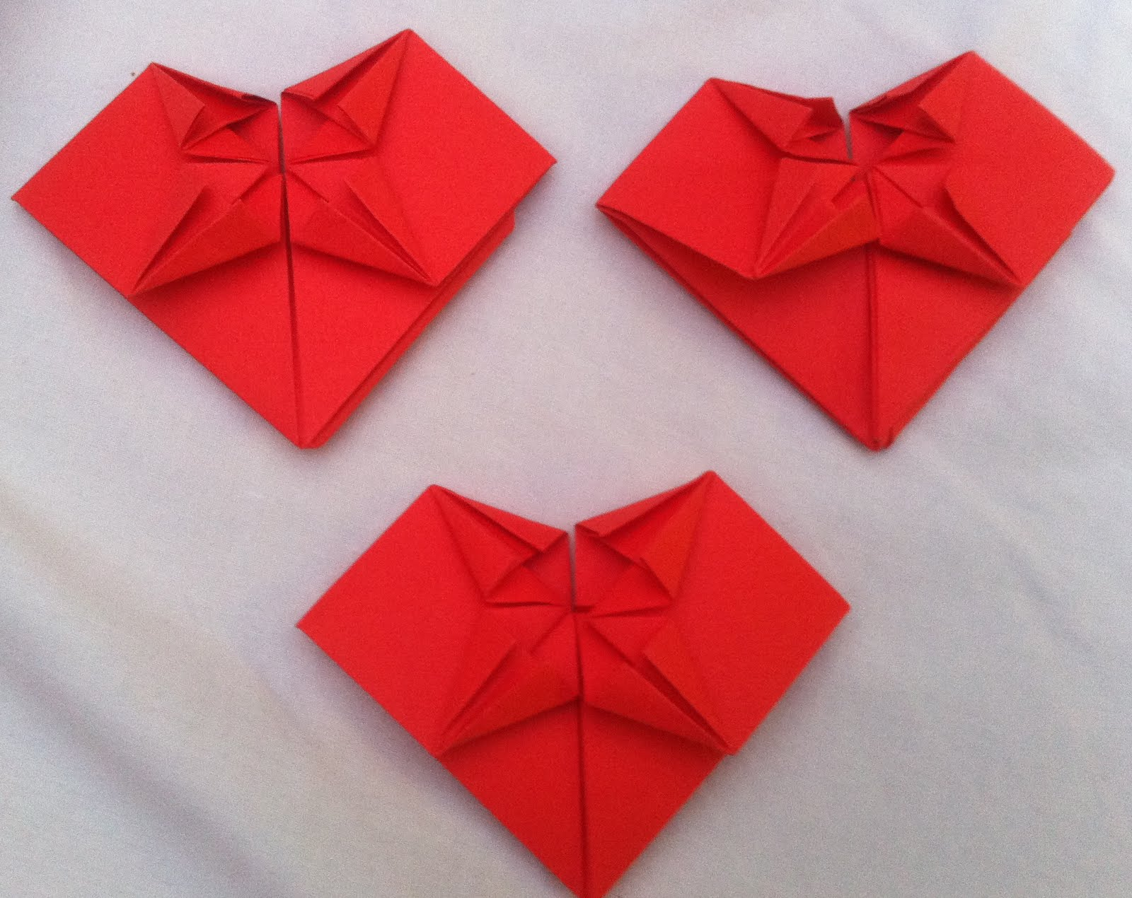 origami hearts - 28 images - origami garland hiragana, how ... - photo#23