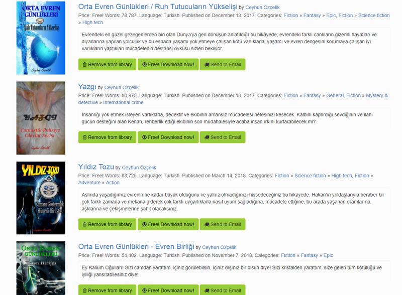 a3a81efd48b0b O da kitabınızın aynı satış sitesinde çakışmasını önlemek. Bunun için her  iki siteden satış kanalları listesini bulup, çakışanları (Özellikle ...
