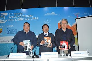 Nuestra CPEP se presentó con éxito en la FIL Lima 2016