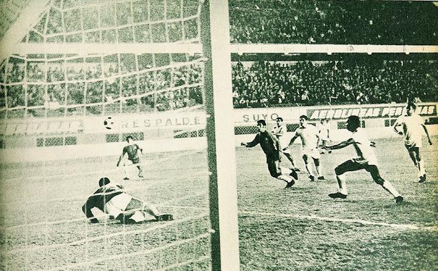 Perú y Chile en Copa del Pacífico 1968, partido de vuelta