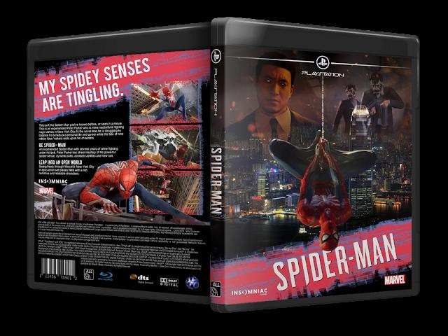 Capa Spider-Man PS4 [Exclusiva]