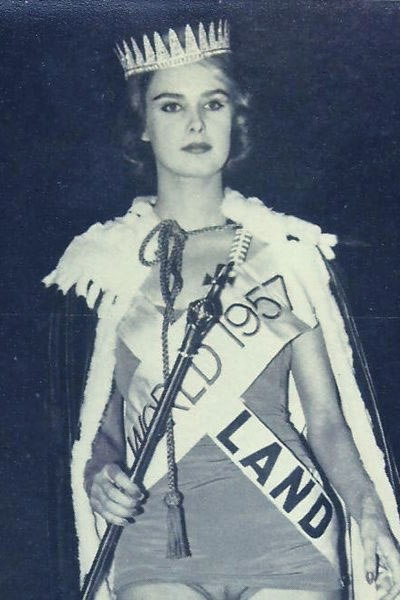 Miss World Of 1957 – Marita Lindahl