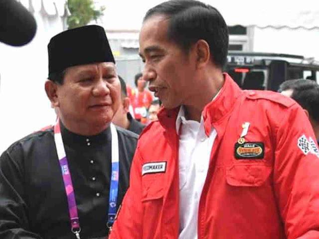 50 Persen Data dari TPS Masuk, Jokowi-Amin Raih 43 Juta Suara, Prabowo-Sandi 33 Juta