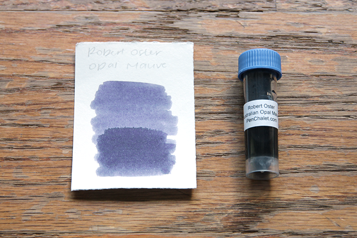review: robert oster signature australian opal mauve