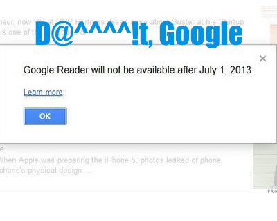 Google Reader shutting down, what to do