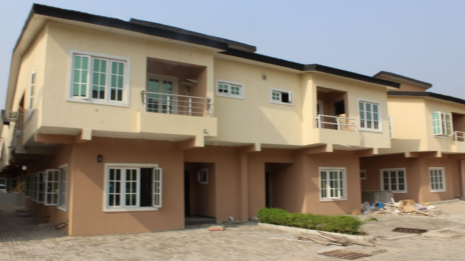 4 Bedroom Semi Detached house with a room BQ at Lekki Gardens Estate ...