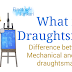 What is mechanical and Civil Draughtsman or draftsman ?