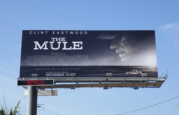 Mule film billboard