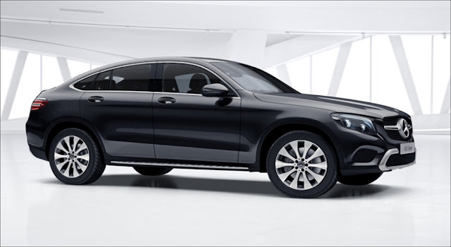 Mercedes GLC 300 4MATIC Coupe 2019 thiết kế thể thao mạnh mẽ