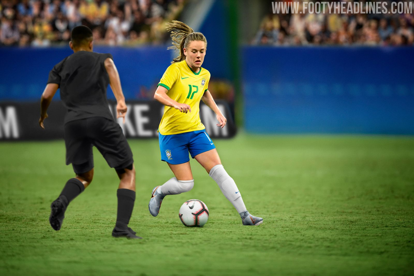 Brazil 2019 Womens World Cup Home Kit Revealed - Footy -6049