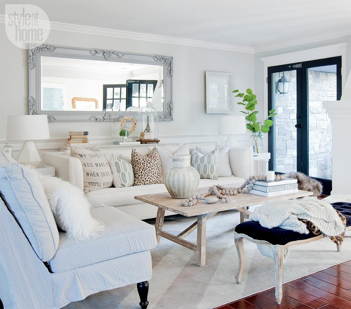 Mix And Chic: Home Tour- Jillian Harris' Eclectic Chic Home