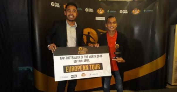 Jadi pemain paling baik versus APPI, Riko Simanjuntak dihadiahi berlibur ke Eropa