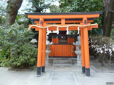 大仁八阪神社稲荷社熊野神社九重稲荷清高稲荷