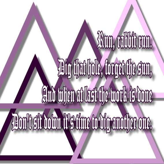 Song Lyric Quotes In Text Image: Breathe - Pink Floyd Song