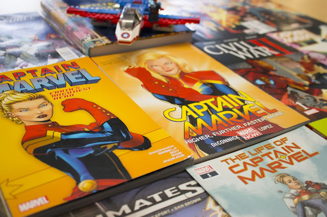 ntroducing Captain Marvel: she's a smartass fighting intergalactic evil