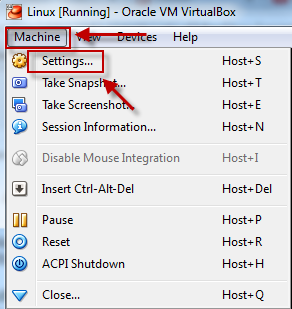How to configure bridged network in Oracle Virtual Box
