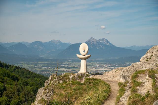 Gaisberg und Nockstein von Koppl  Wanderung FuschlseeRegion  Wandern Salzkammergut 11