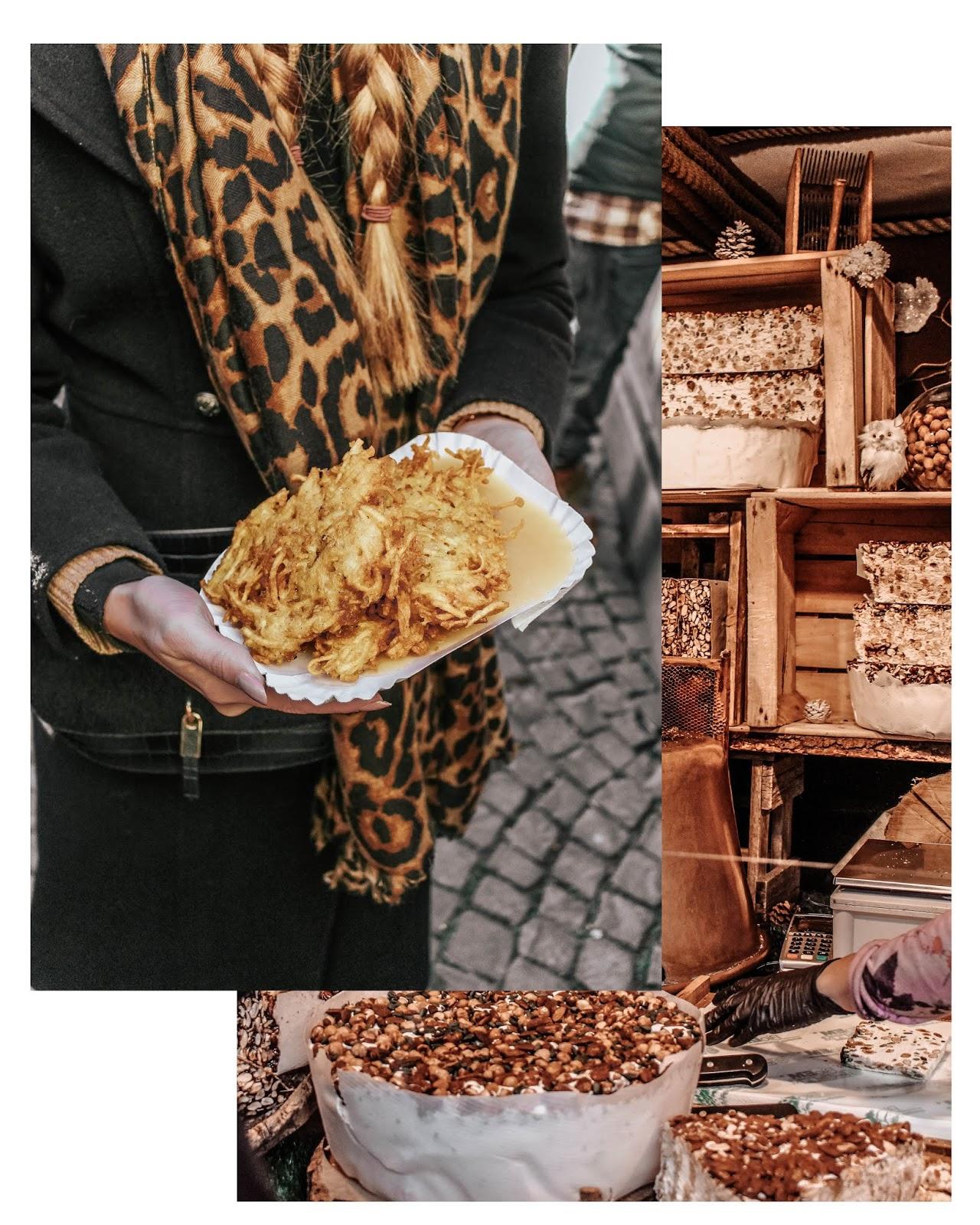German Christmas Market Potato and Apple Sauce