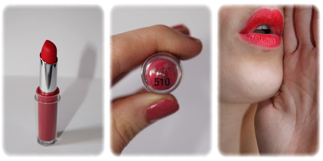Swatch Rouge à Lèvres SuperStay 14H - Gemey Maybelline - Teinte Non Stop 510