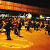 Dezenas de famílias retiradas do Conjunto Rui Lino III fecham Terminal Urbano durante protesto