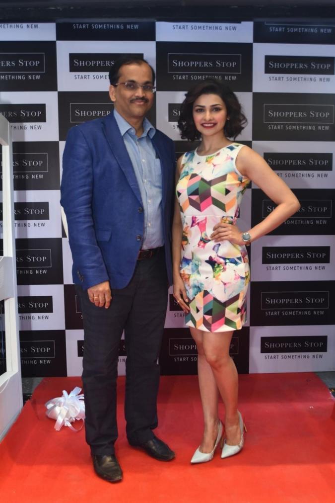Beautiful Delhi Actress Prachi Desai Cute Smiling Stills In White Dress
