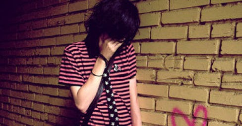 Wallpaper Emo Girl Style Sad Boy And Girl In Love Alone Wallpaper Alone Crying Face
