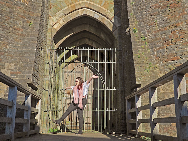 Caerphilly Castle What To Do in Wales Body Positive Travel Blogger